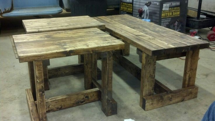 Best Homemade Coffee And End Tables New House Pinterest 400 x 300