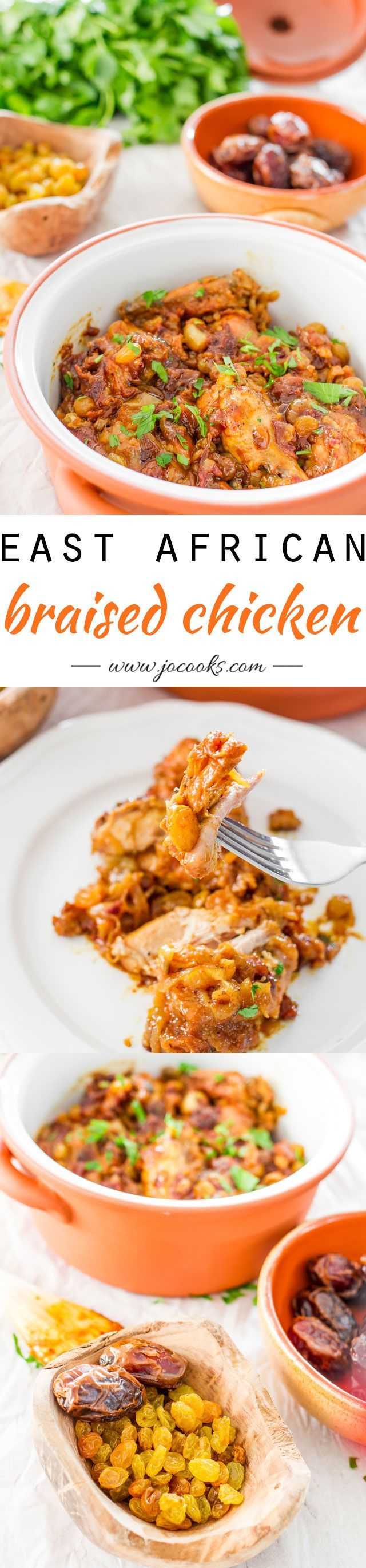 East African Braised Chicken