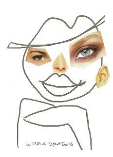 funny face drawings