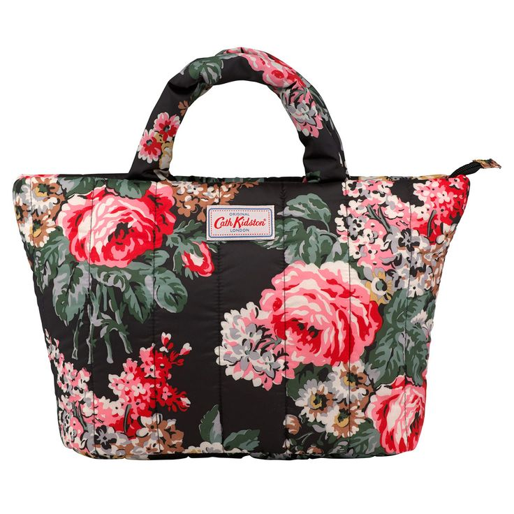 Bloomsbury Bouquet Padded Tote Bag  | Cath Kidston |
