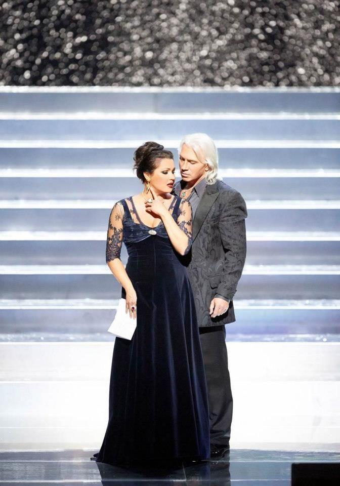 Anna Netrebko & Dmitri Hvorostovsky in Tschaikovsky's opera Eugene Onegin in Vienna 2013!