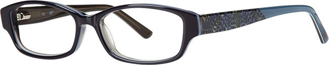 Candies Navy Oval Frames for Women | Visionworks