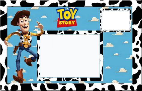 Toy Story: Invitaciones para Imprimir Gratis.