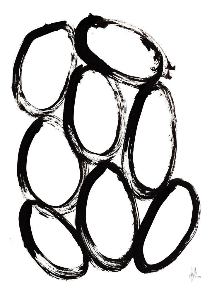 Nothing #7 by My Buemann #art #artist #painting #drawing - Beauton Art Gallery - http://beautonart.com | http://beautonart.dk