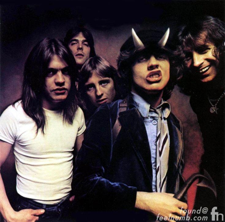 ACDC AC/DC Bon Scott Death 1980