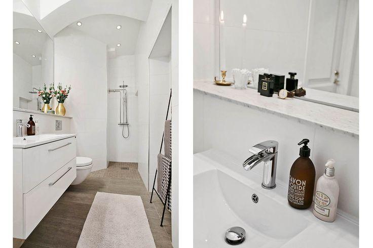 Modernt renoverat badrum med hotellkänsla #Västmannagatan74