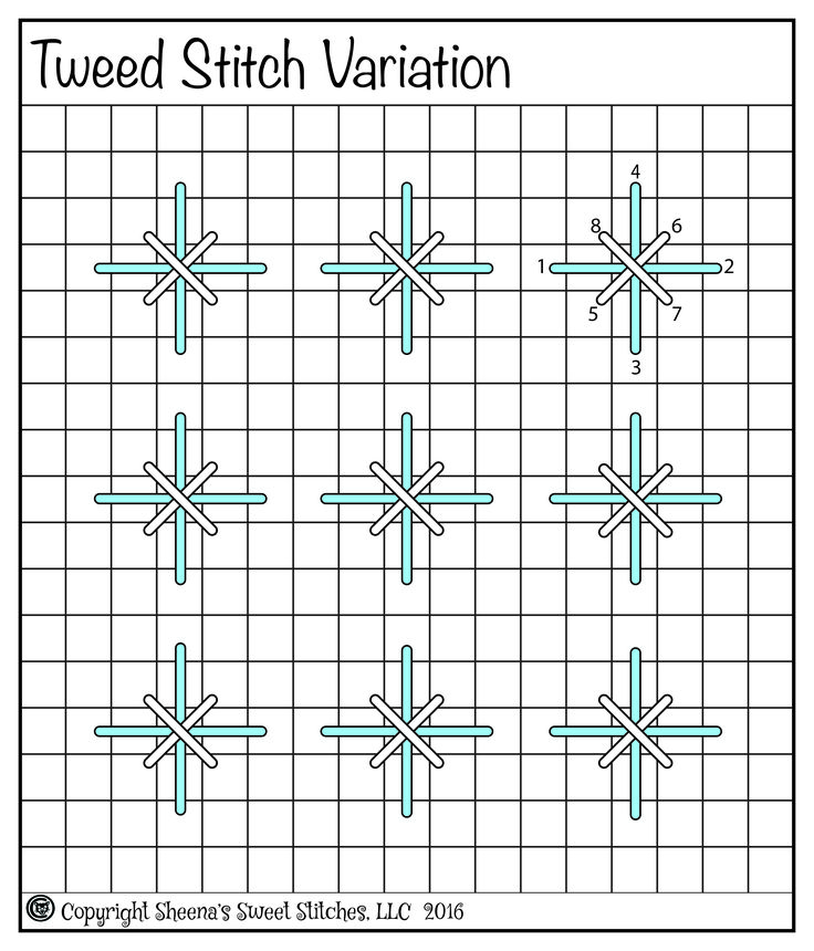 Tweed Stitch Variation & 10 Days Till Xmas 15 December, 2016 By: Catladycomment