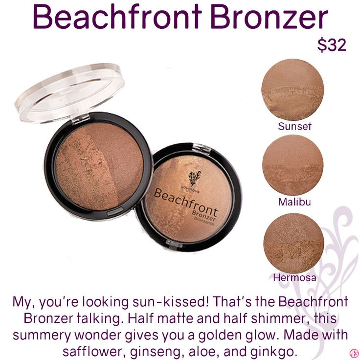 Beachfront Bronzer by Younique. Click to order. Want more information or tips, join my Facebook group at www.facebook.com/groups/106517206410341/