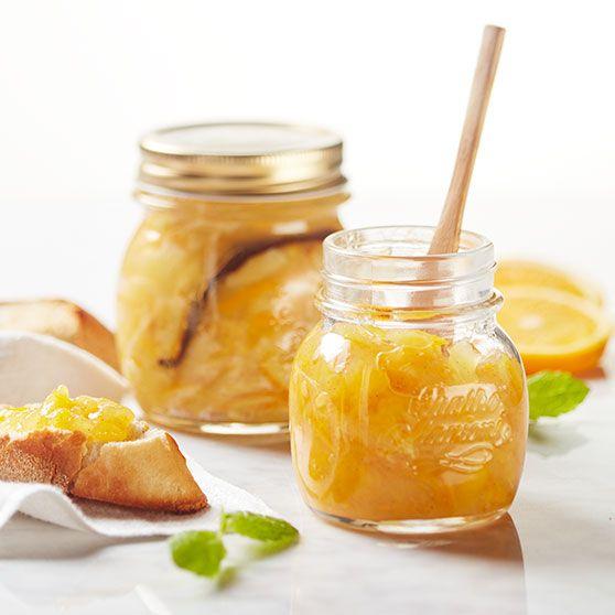 Appelsinmarmelade med vanilje og citron