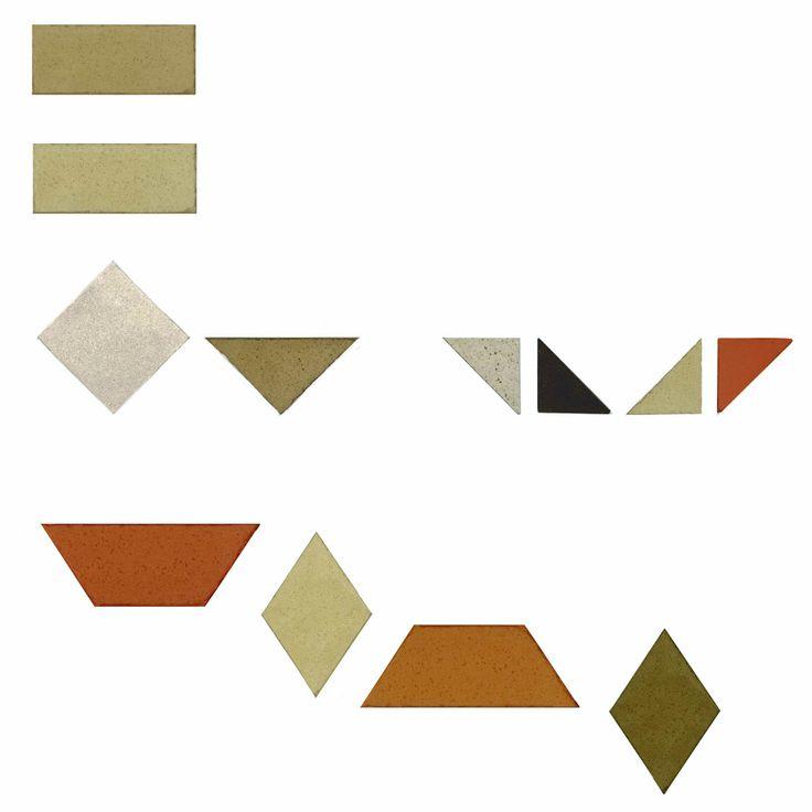 Tessel·la mosaic Nolla / Tesela mosaico Nolla