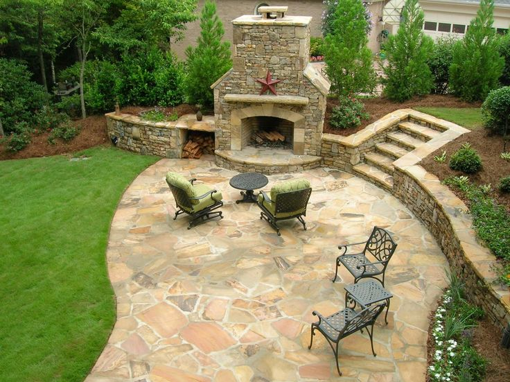 Dreamy Patios And Decks. Big BackyardBackyard IdeasSteep ...