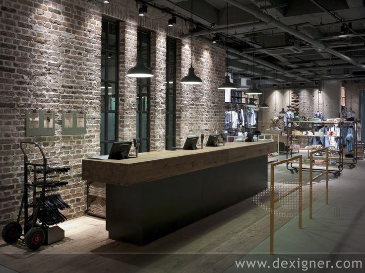 Levis Flagship Cash Desk