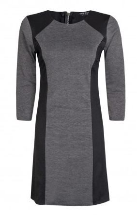 Grey Colourblock Shift Dress  #2014 #fashion #blackdress http://www.selectfashion.co.uk/clothing/s039-0401-22_grey.html