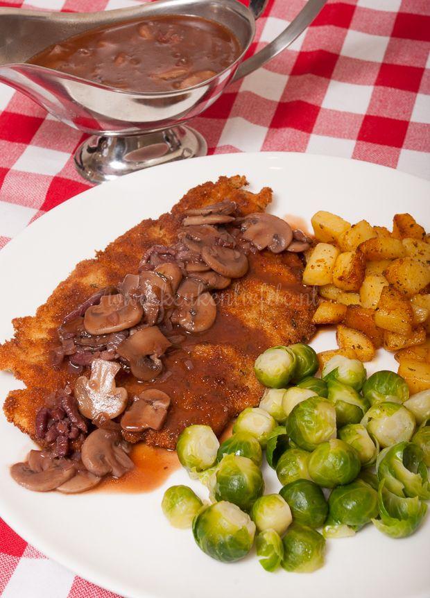 Mieks Special: schnitzel met jachtsaus - Keuken♥Liefde