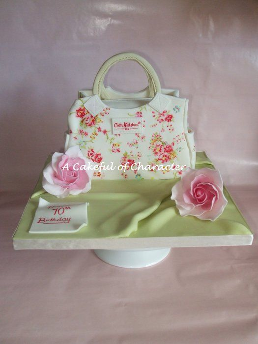 Hand painted Cath Kidston Washed Roses Handbag