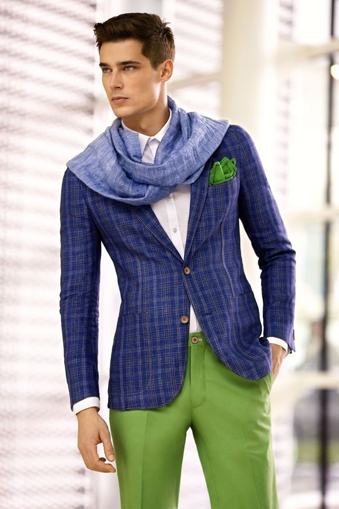 36 Best Blue Suit Collection For Elegant Men Work Outfit   Man ... 50a2b2db08