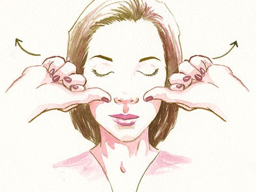 The Anti-Aging Trick That's Right at Your Fingertips