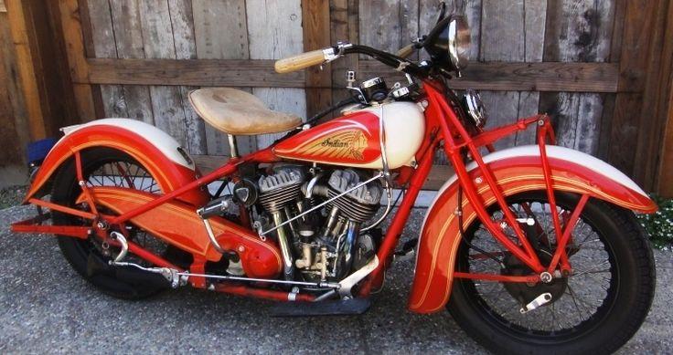 Indian Chief.  Fantastic old bike!