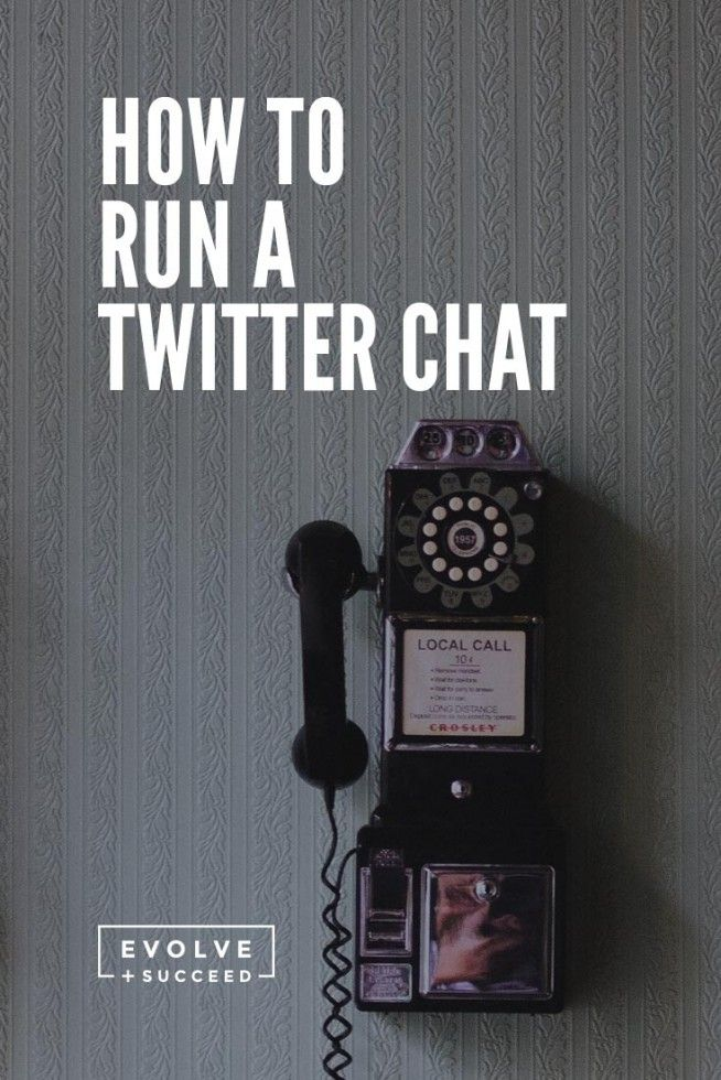 How to Run a Twitter Chat [+ Free Download] - Evolve and Succeed : Evolve and Succeed