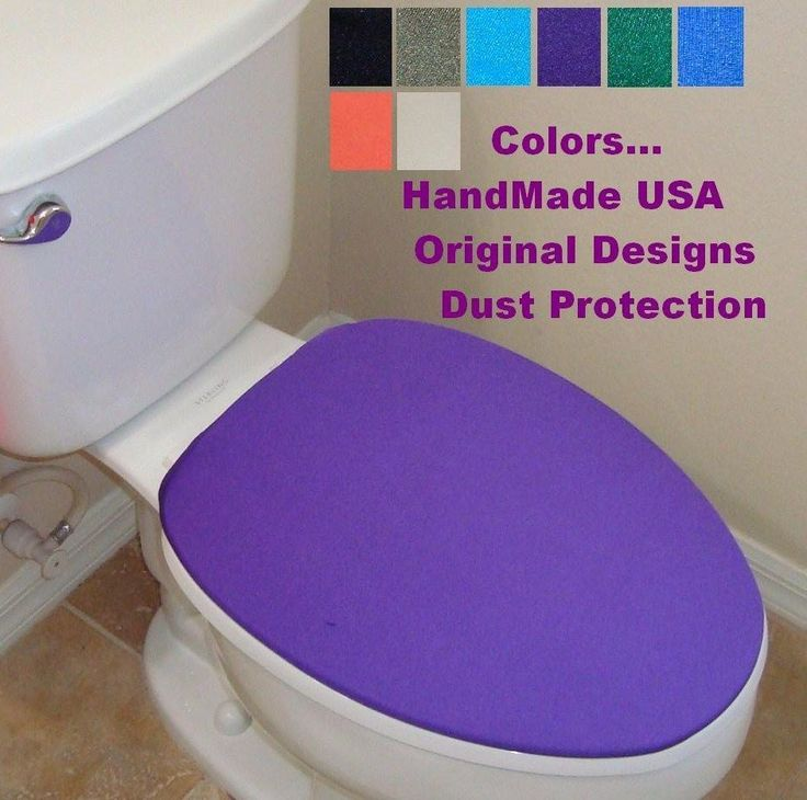Cover Lid for toilet seat fits on standard / elongated New Models - HandMade USA #HandMade