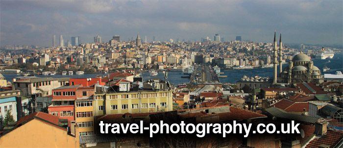 Galata tower and bridge, Istanbul