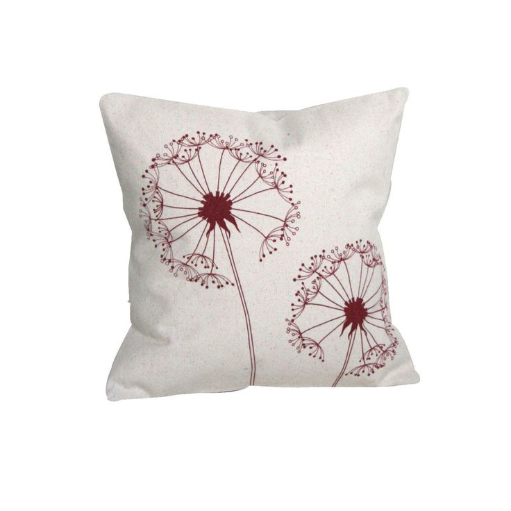 Sustainable Threads Dandelion Small Throw Pillow