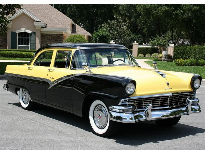 1956 ford fairlane 4 door sedan cars from the 1950 39 s for 1956 ford fairlane 4 door