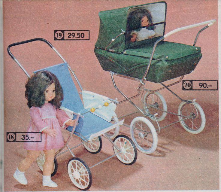 Katalog Centrum 1971 Puppen und Puppenwagen