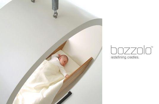 Hangende wieg voor een modern en design interieur - Babykamer - Rabboon, ontwerp unieke geboortekaartjes, alles voor uw baby en kind