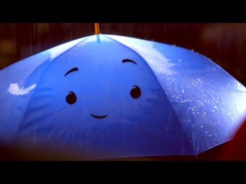 """Pixar's Blue Umbrella short: I adored this! I wanted to ask the movie theater to press """"replay"""" so badly! (Oh, and Monster's U was good, too.)"""