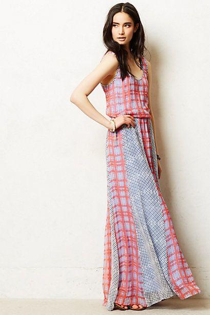 Alex maxi dress for Anthropologie mural maxi dress