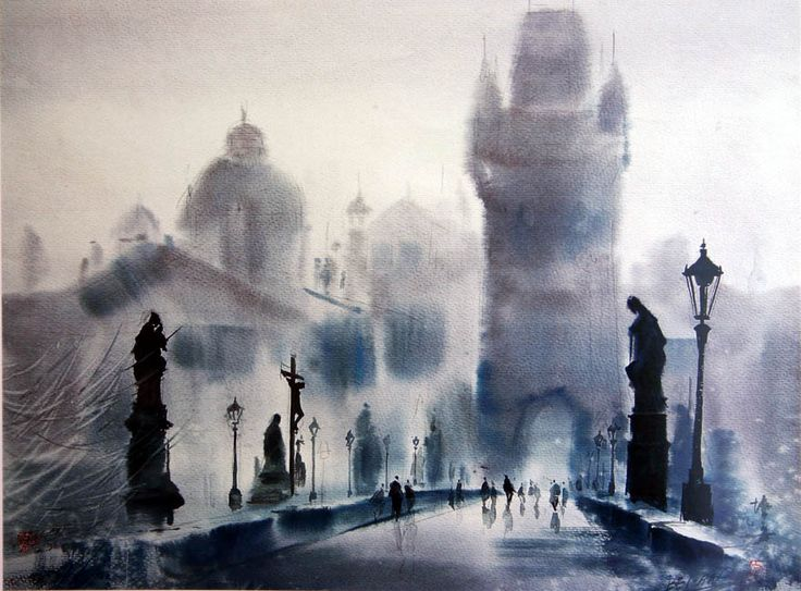 1000 images about cao bei an aquarelles on pinterest for Aquarelliste chinois