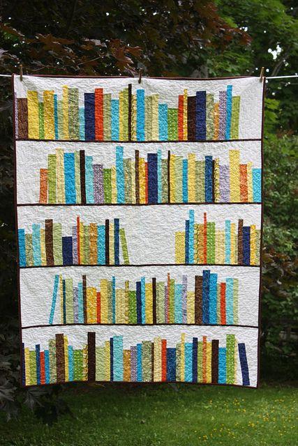 Bookshelf quilt.