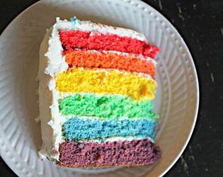 3 SIMPLE WAYS TO MAKE A RAINBOW CAKE