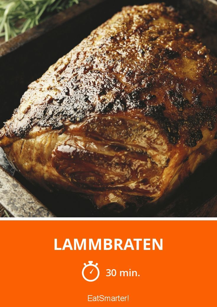 Lammbraten - smarter - Zeit: 30 Min.   eatsmarter.de