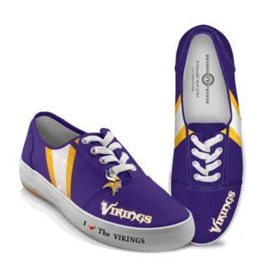 Women's Shoes: I Love The Vikings Women's Shoes - http://bradford-exchange.goshopinterest.com/jewelry-watches/gold/womens-shoes-i-love-the-vikings-womens-shoes/