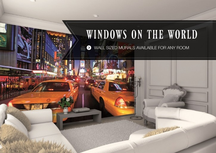 The World On Your Walls, Stunning Wall Murals That Give You A Window On The