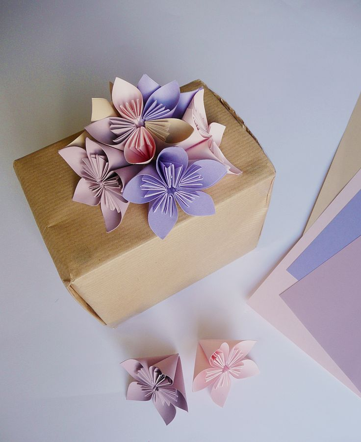 gift for a friend, origami flowers katinka's work