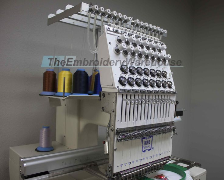 Looking for New commercial Embroidery equipment?  Check this Butterlfy New Embroidery machine out!  Butterfly B-1501 B/T Year 2016 15 needles / 1 head 3 set of tubular hoops 1 set of caps USB Reader Digitizing Software included for 12 months 1 year warranty on electronics ( no shipping or labor included) Price: http://www.theembroiderywarehouse.com/machinePages/0829-Butterfly_B-1501BT.php  #Butterlfy #Embroidery #EmbroideryMachie #EmbroideryEquipment #TheEmbroideryWarehouse