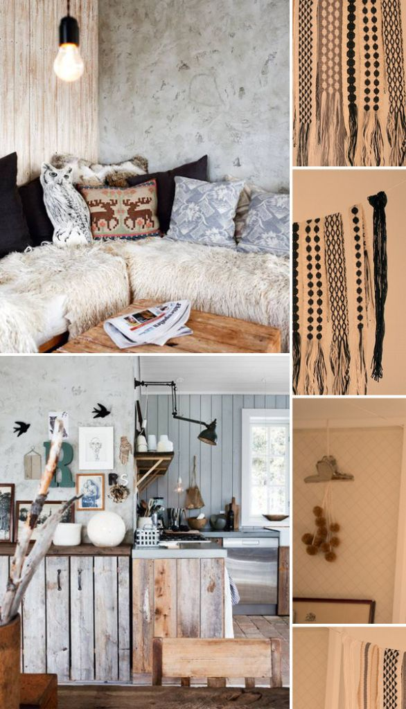 Rustic Interior Mood Board