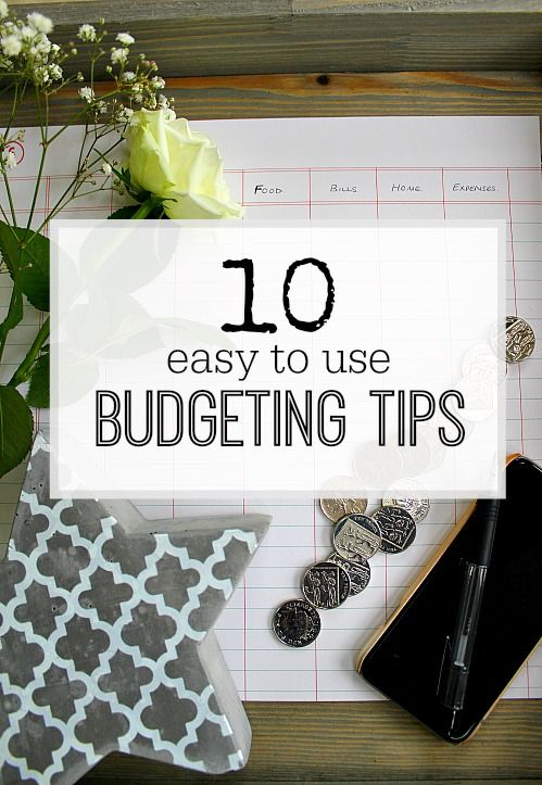 Budgeting tips that are easy to follow and will make a difference to your bank balance - try them today!