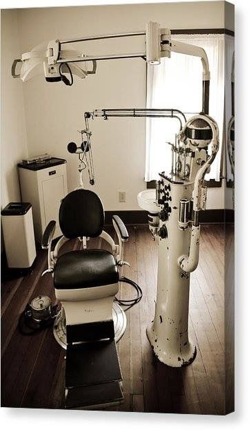 This looks like one of my uncle's dental exam rooms.