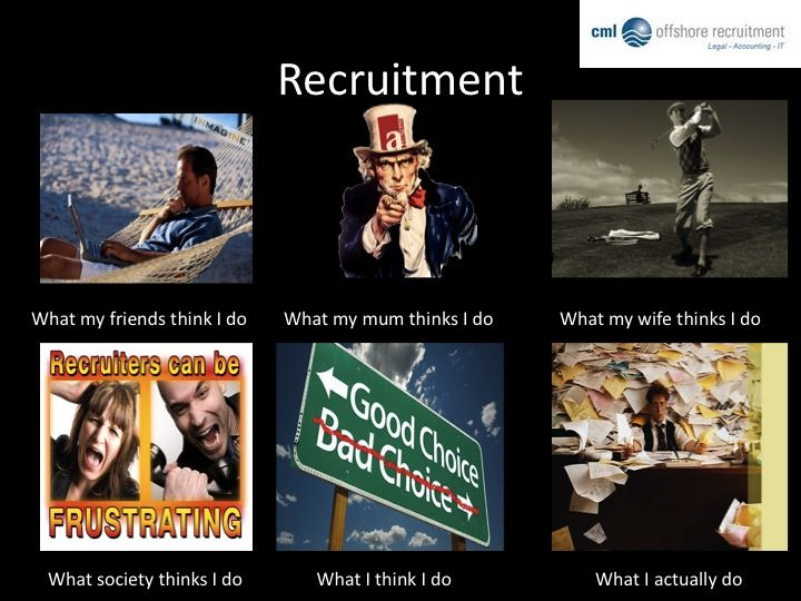 Recruitment What People Think We Do Hilarious Pinterest
