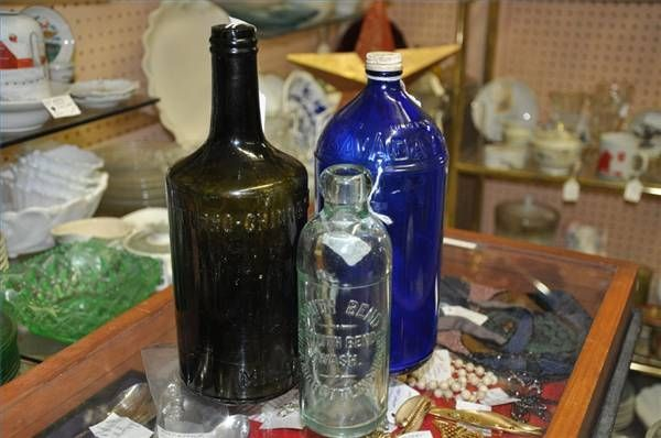 How to Identify Antique Glass Bottles