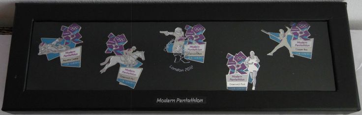 London 2012 #olympics #modern pentathlon official venue pin #badge set of 5 rio 1,  View more on the LINK: 	http://www.zeppy.io/product/gb/2/371832022433/