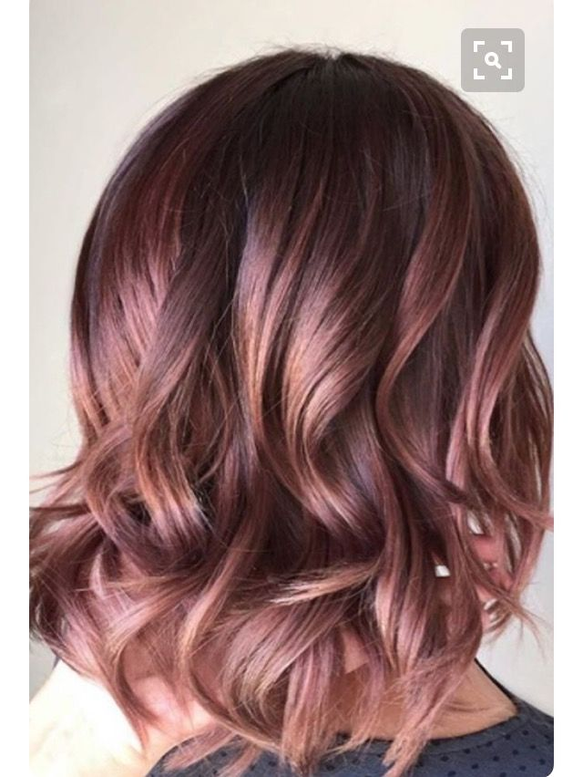 Rose gold hair hmm considering. What do you think?