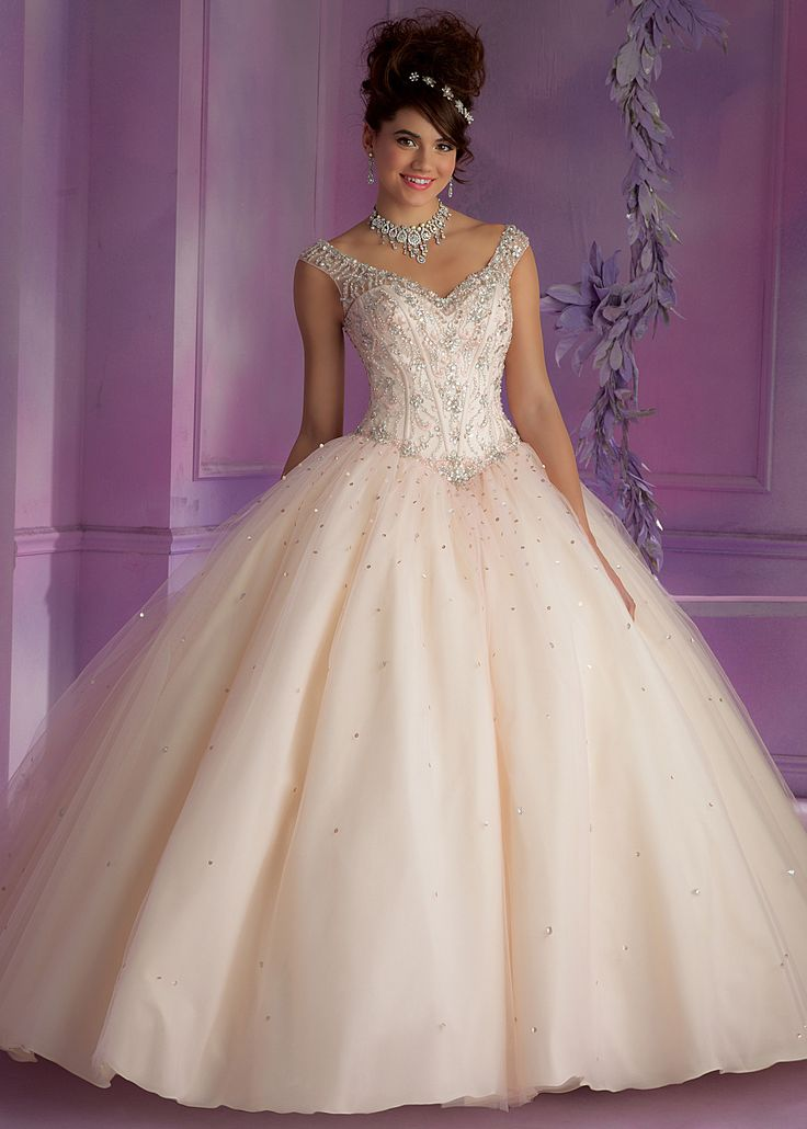 Mori Lee 89006 Embroidered Quinceanera Dress