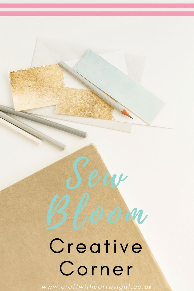 I recently put out a call on twitter looking for new craftspeople to take part in the Creative Corner series. I have delighted with the response and one of the first to get in touch was the talented Card maker Hannah from Sew Bloom. Take a read about her creative process and the work she produces.