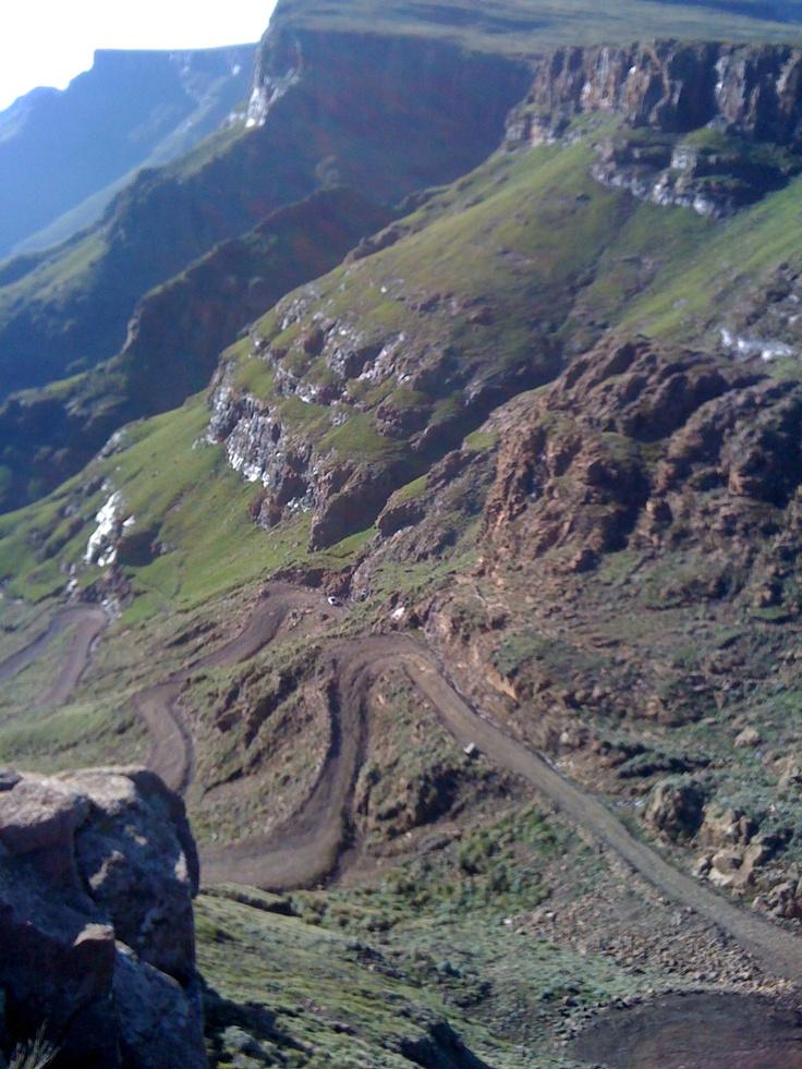 Sany Pass: Lesotho