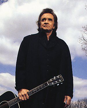 Johnny Cash. One of the greatest country music singers of the 20th century. 1932-2003